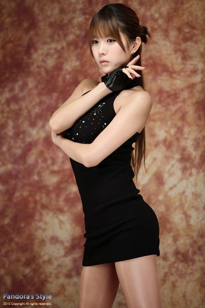 Police Officer Girl Wallpaper Fashion Female And Have Fun Heo Yoon Mi Black Mini Dress
