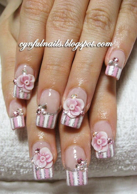 Rose Nail Net: Cynful Nails: April 2010