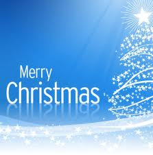 merry christmas blue white wallpaper