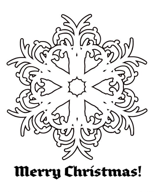Online Christmas Coloring Pages   Coloring Pages to Print