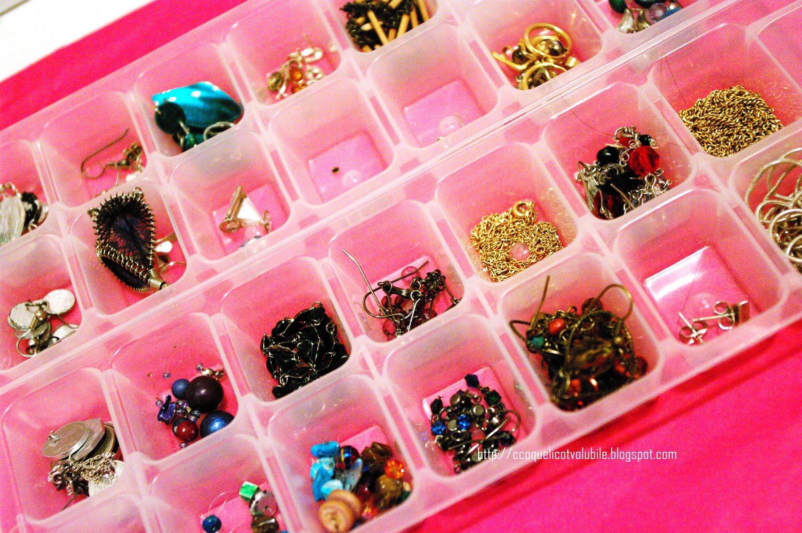 Comment Ranger Ses Verres coquelicot volubile: comment ranger ses bijoux : bracelets