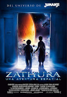 pelicula Zathura, una aventura espacial