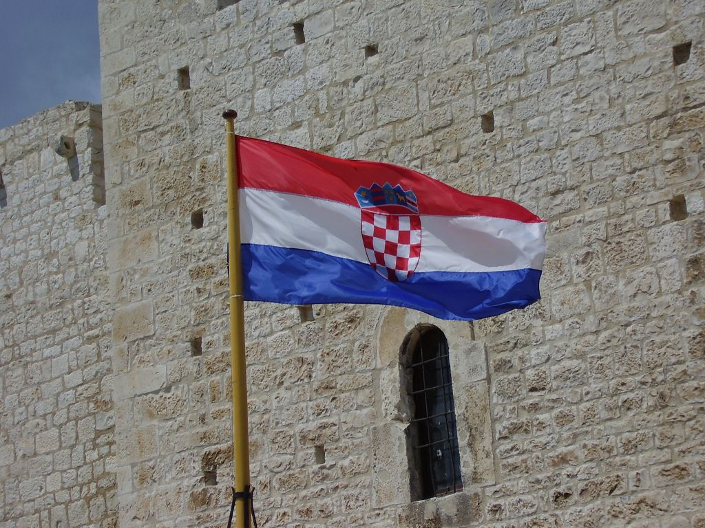 Hrvatska Zastava Samo Grbhrvatska Zastava Hrvatska Zastava