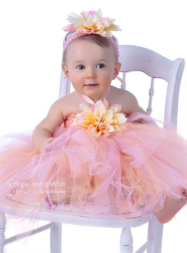 da40ba72be4 Princess Silk Dahliain Yellow Pink Crochet Baby Dress