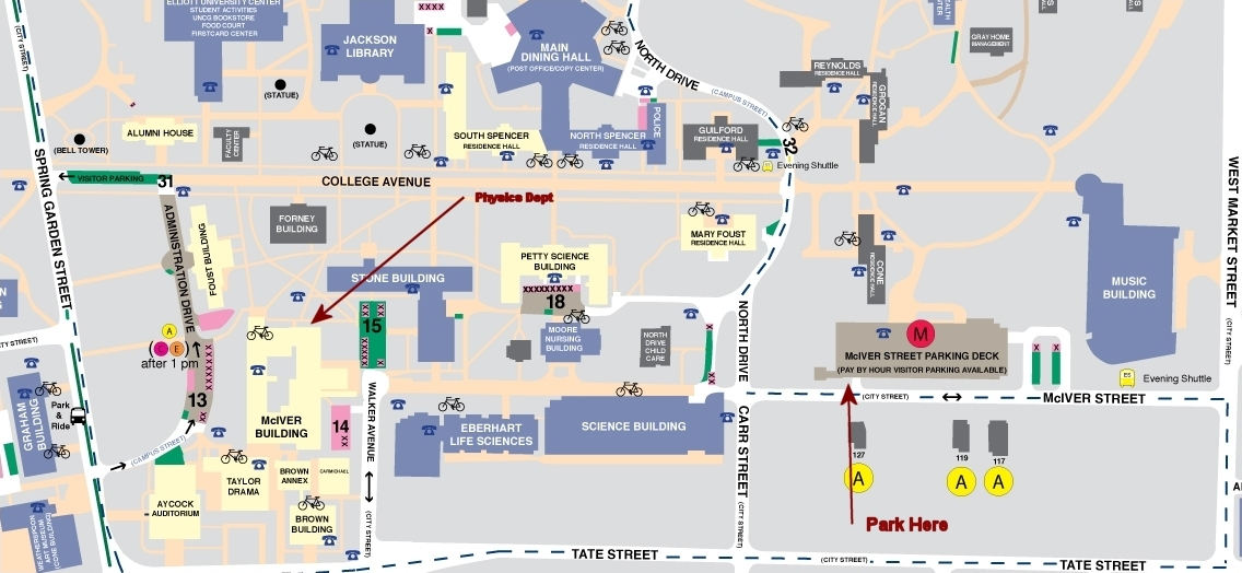 Unc Greensboro Campus Map.Chel Marie S Blog Ten Ideas Applied To The Uncg Campus