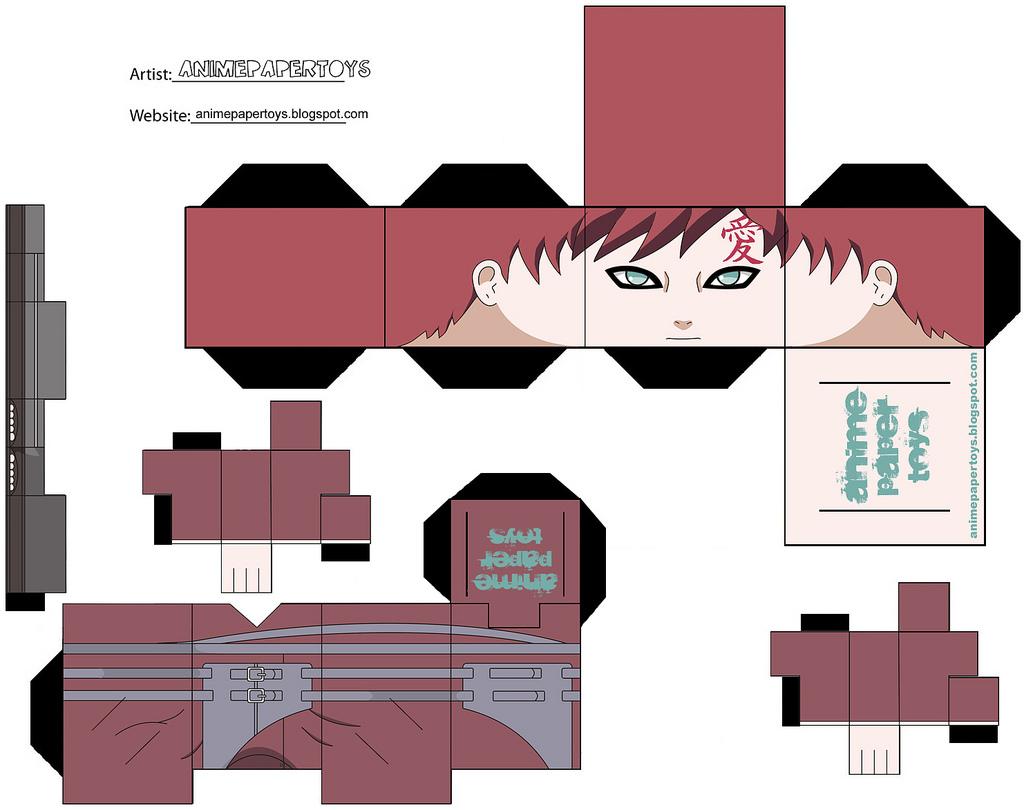 Another cool naruto papercraft japan media online - Origami para todos ...
