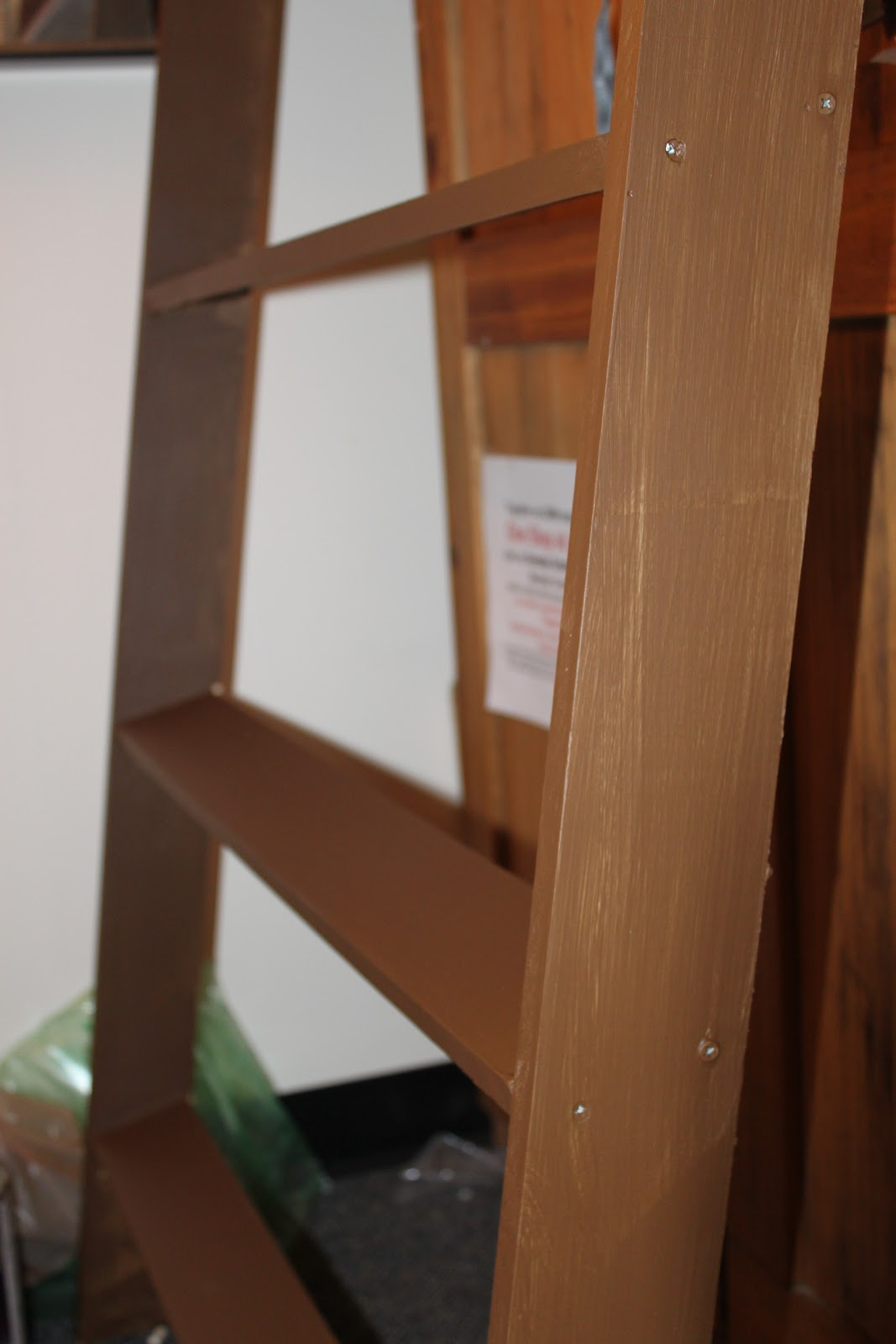 Needle and Hammer: DIY Leaning Wall Shelf: Part One