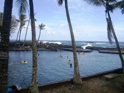 Fun Hawaii Travel: An Onsen on the Big Island of Hawaii : Ahalanui