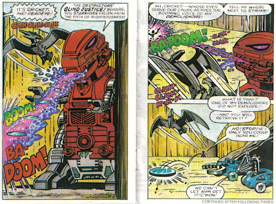 Giving a blind robot the biggest gun seems like another design flaw, Man.