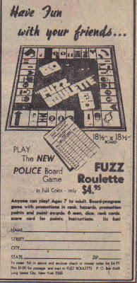 Next time you're stopped by a cop, mention 'Fuzz Roulette.'  Just to see what happens.