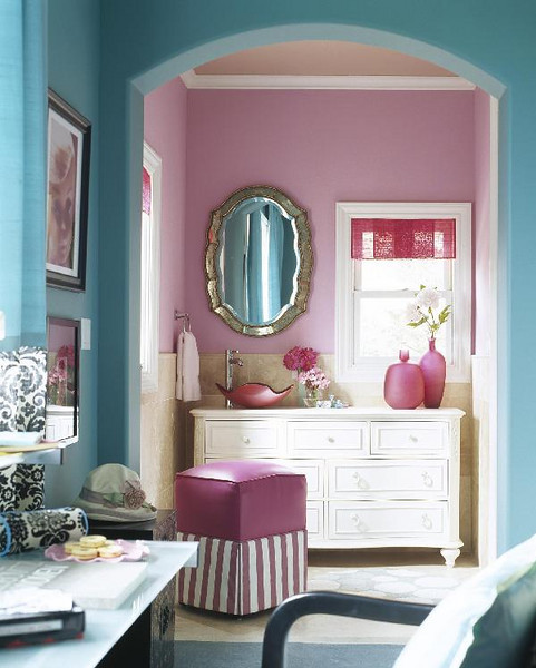 Turquoise Red Bedroom Decorating Ideas: Little Inspirations: Pink And Turquoise Bedroom