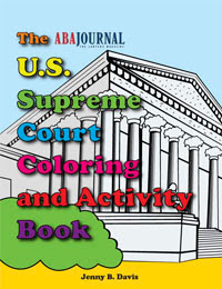 Supreme Court Coloring Book