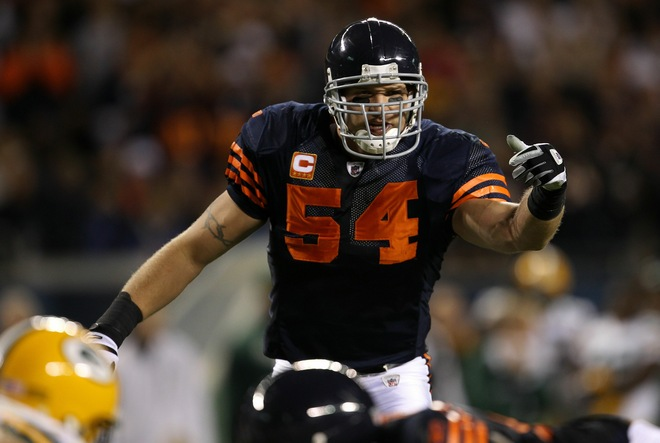 brand new a1d88 247ac The Nightly Daily: Chicago Bears throwback uniforms looked ...