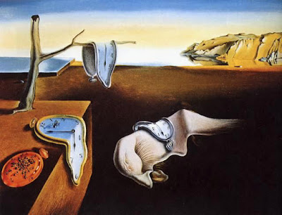 Salvador Dalí, La persistencia de la memoria, 1931;  24 x 33 cm; oil in canvas; Museum of Modern Art, New York City