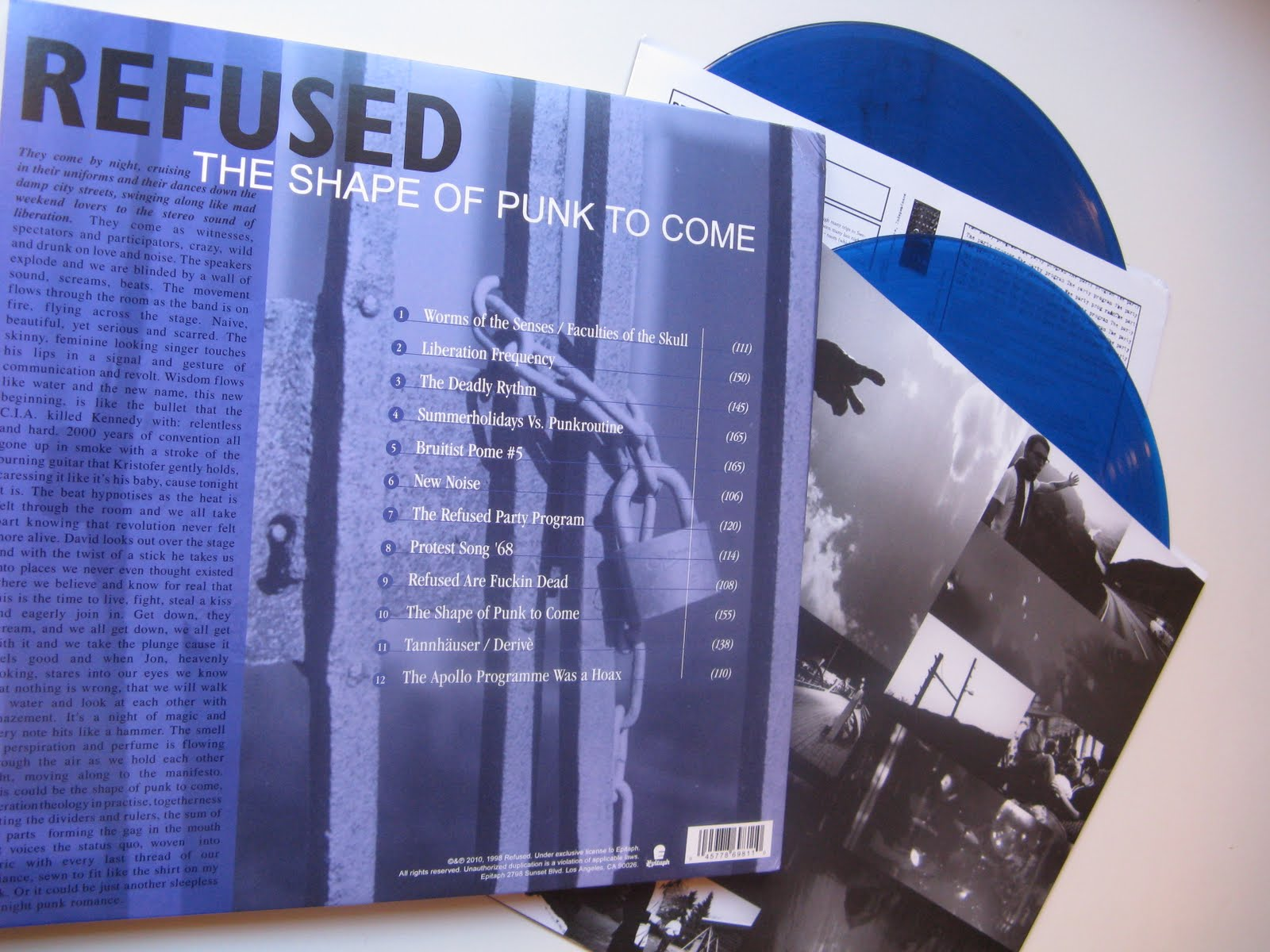 Vinyl Abuse Refused The Shape Of Punk To Come
