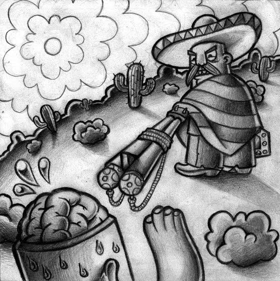 Bocetos Y Libretas: Agosto 2010