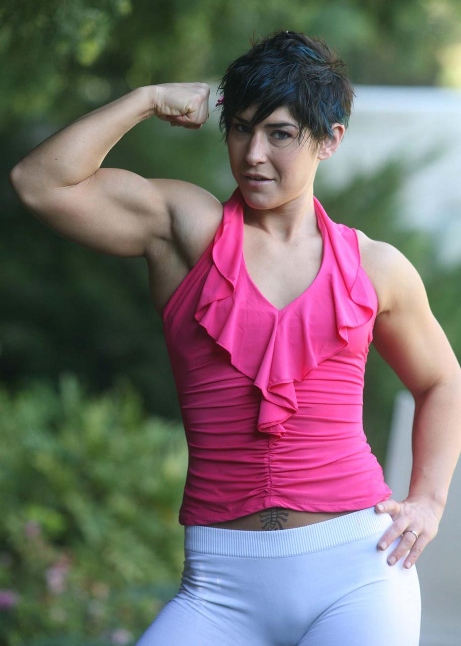 Massa Bruta Garotas Saradas- Sexy Muscle Girls-2108