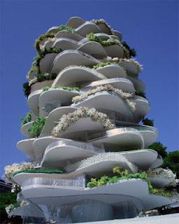 Дом в виде грибницы.