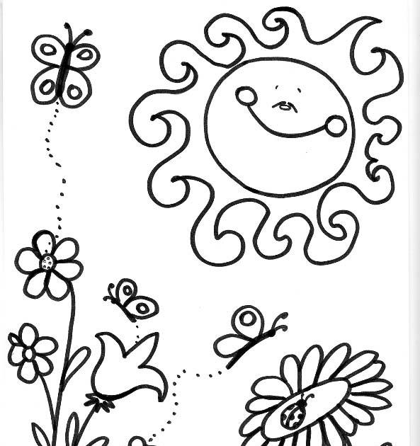 Dibujos Para Chicos: Primavera