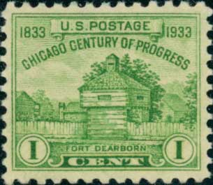 Stamps From The Usa 1933