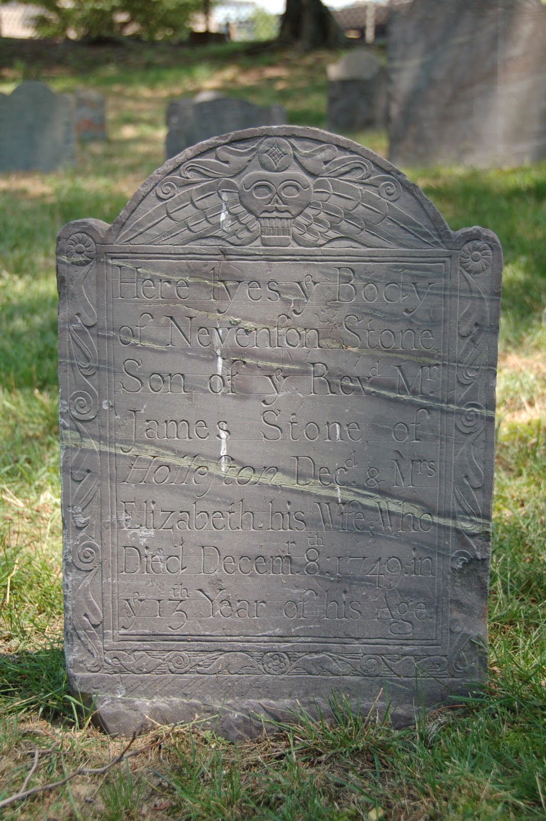 vast public indifference gravestone of the day nevenson stone