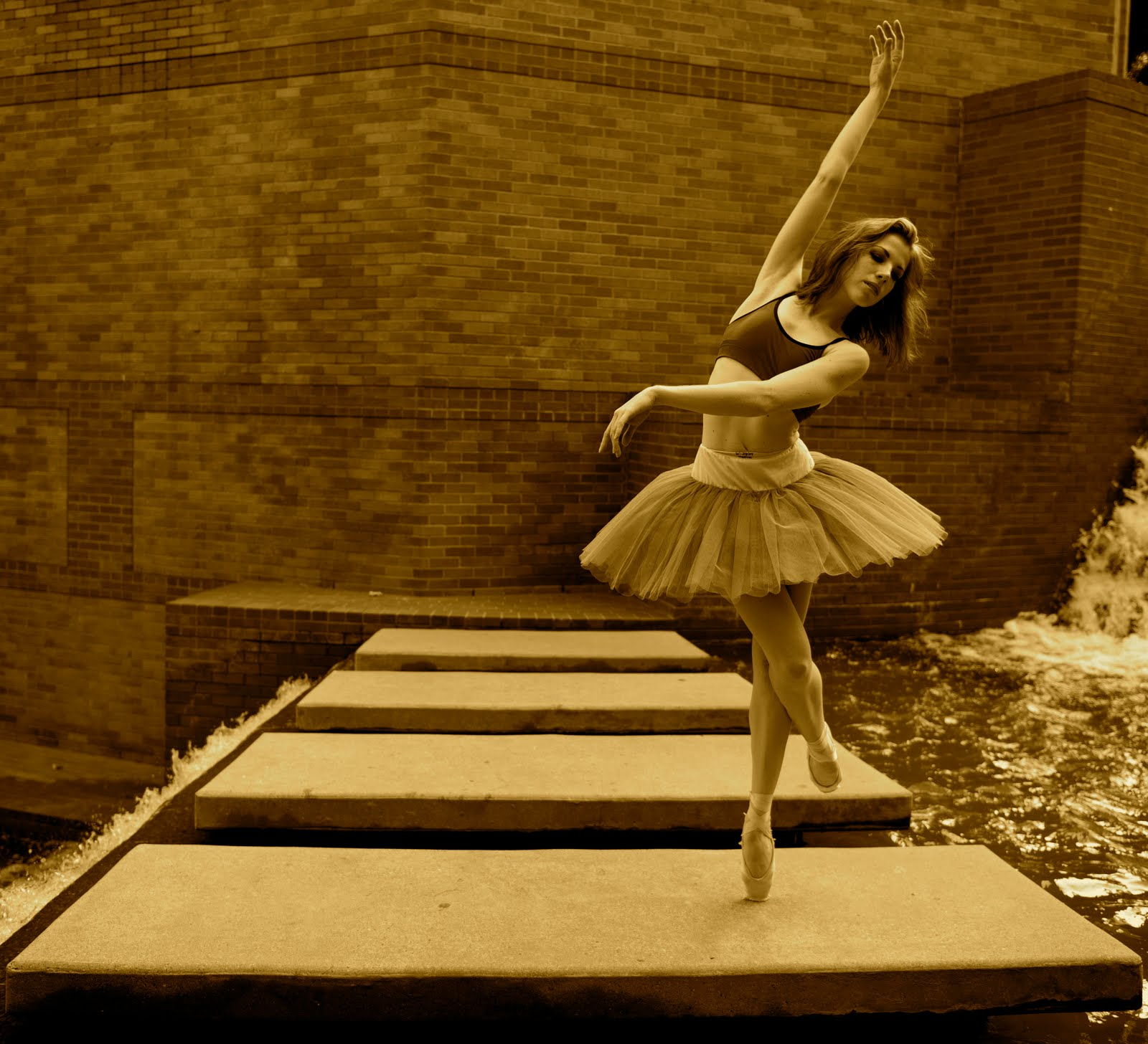 Ballerina by day escort by night
