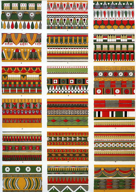 Wakges Ancient Egyptian Decoration As Seen By Owen Jones