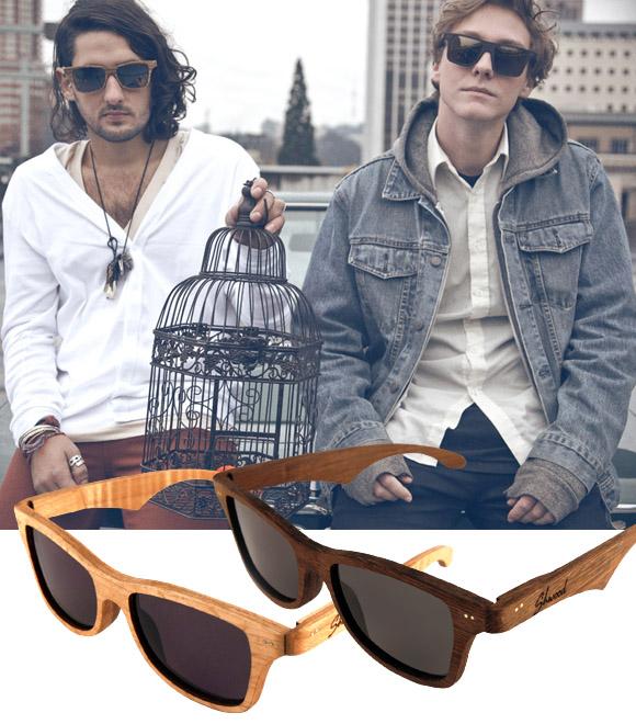 6af0472cac2f0 A Shwood é uma marca de óculos ecologicamente correta, ou seja, utiliza  sobras de madeira como matéria prima na criação de óculos de sol, que ficam  leves e ...
