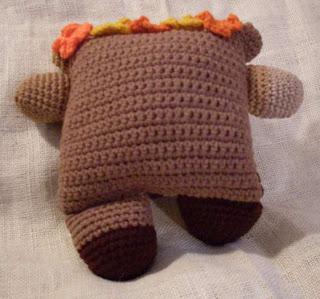 fudgie the chocolate flowerumi bear