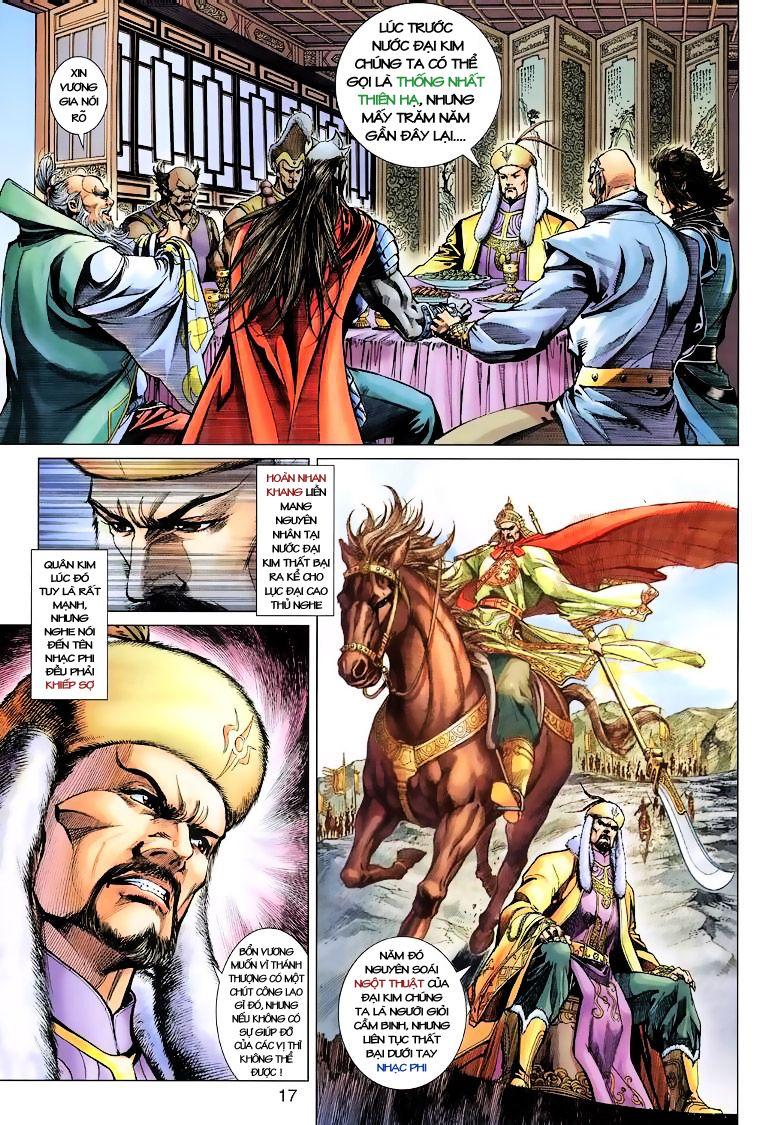 Anh Hùng Xạ Điêu anh hùng xạ đêu chap 10 trang 17
