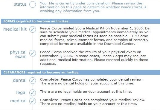 Medical Clearance--Finally!!