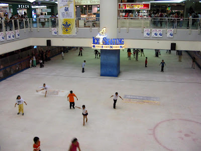 an old picture of the Ice Skating Rink from the web (you can tell its old from the logo of the Bench store on the upper left)