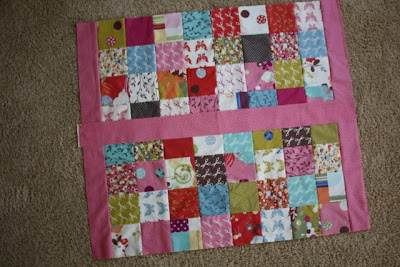 Charm Pack Baby Quilt Tutorial featured by top US quilting blog, Diary of a Quilter