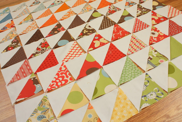 Playing with Half-Square Triangles