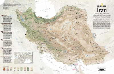 Contours National Geographic Maps Blog Iran Insights