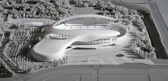 Architectural Design of Hwaseong Sports Complex By DRDS