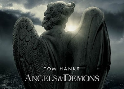Angels and Demons Movie with Tom Hanks as Robert Langdon.