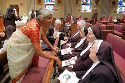 Sisters Fete Orders' Merger