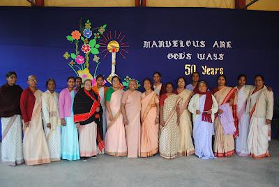 Golden Jubilations for Two SCNs in Jamshedpur