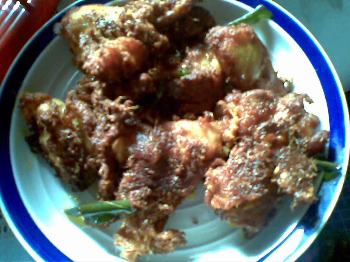 danau kasih: Resepi Ayam goreng berempah