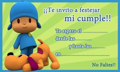 Dias Festivos Invitaciones Para Cumpleaños Infantiles