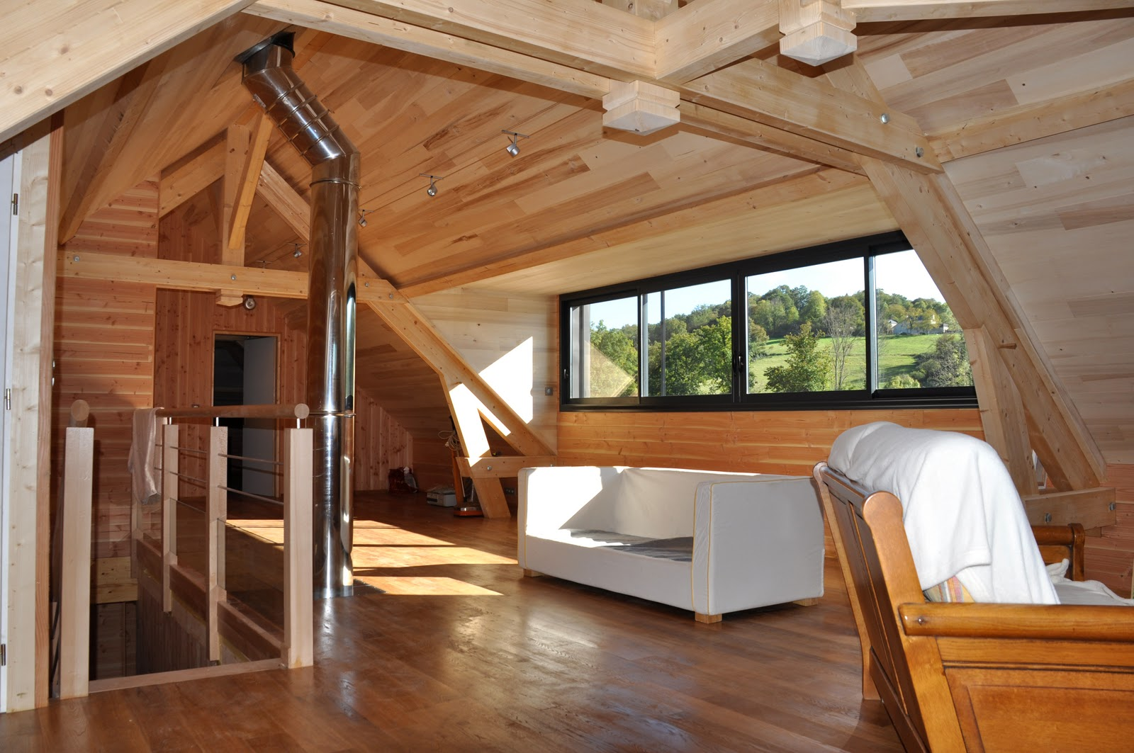 acta le blog des architectes pau maison bioclimatique en bois. Black Bedroom Furniture Sets. Home Design Ideas