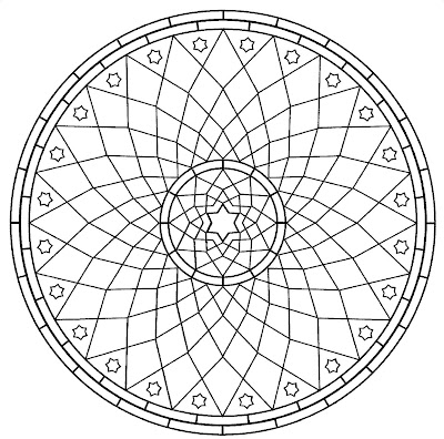 fancy mandala coloring pages - photo#18