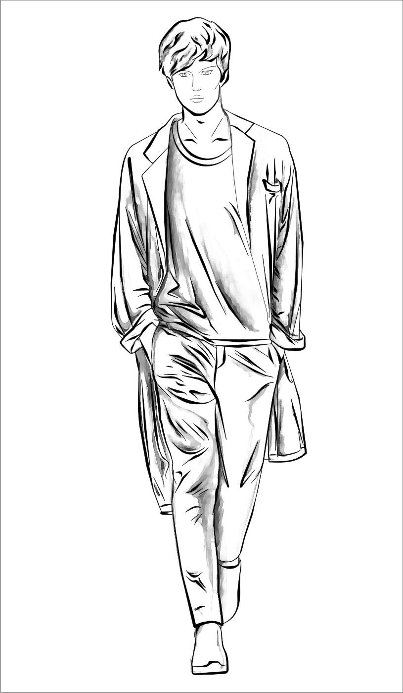Pin en Ilustración de moda