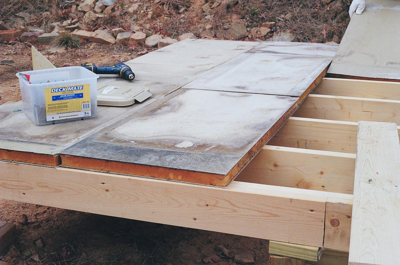 Sub Floor Insulated Panels