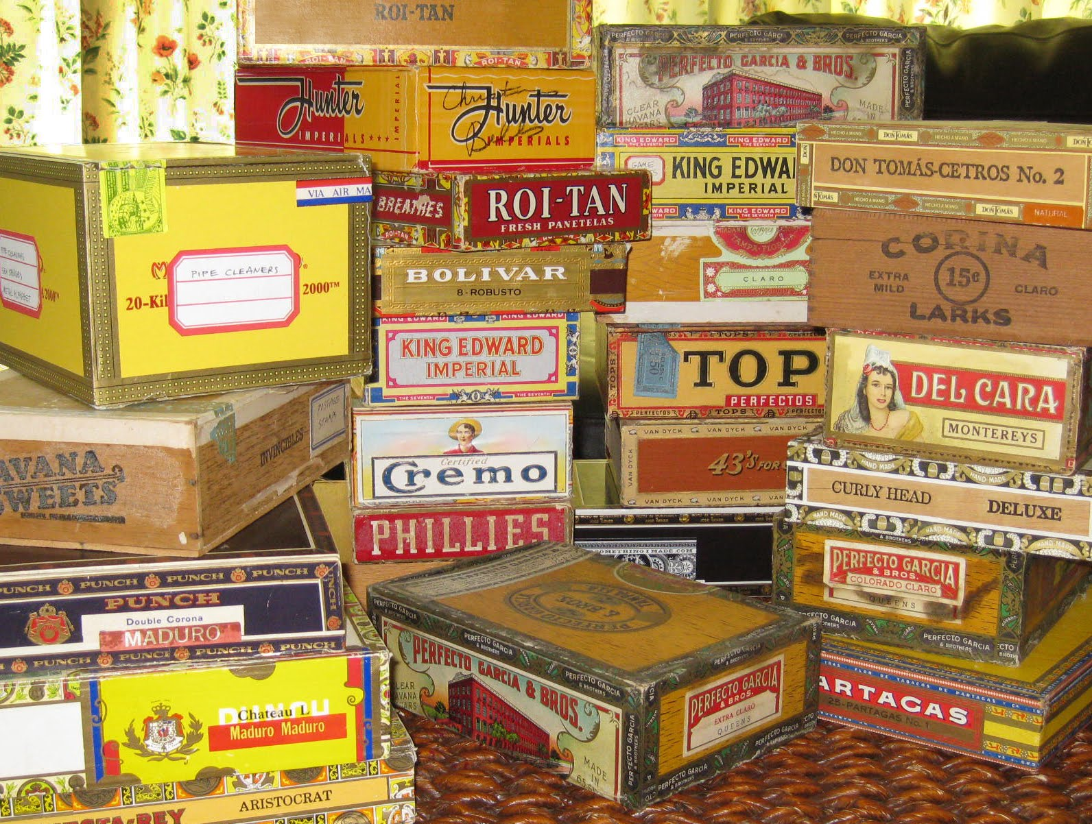 Craft Organizing Cigar Boxes Cathe Holden S Inspired Barn