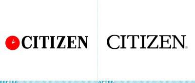 a7ee0f545c2 Há alguns anos atrás a CITIZEN modernizou seu logotipo