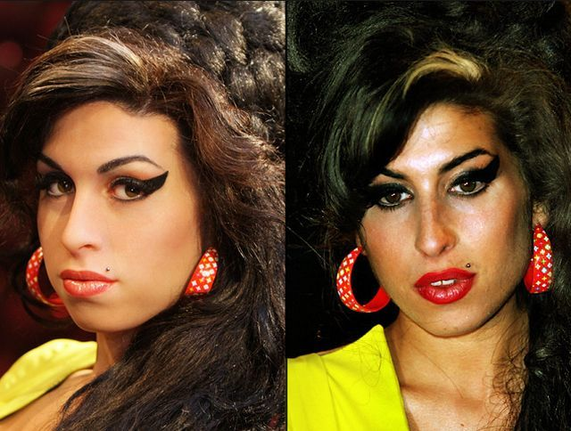Centre For Fashion News: Amy Winehouse Before And After