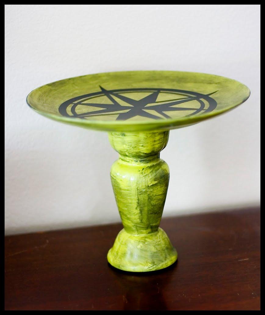 Craftastical Tutorial Aged Compass Decor Stand