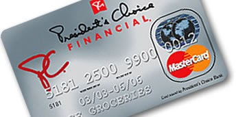 PRESIDENTS CHOICE FINANCIAL ONLINE